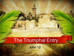 Sermon - The Triumphal Entry